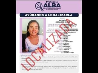 Localizan a doctora Alondra desaparecida en Colima