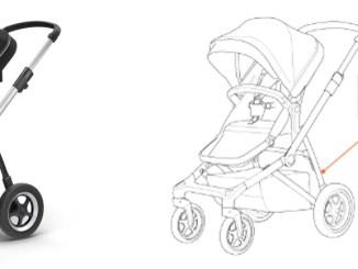 Alerta Profeco sobre falla en carriola, que pone en riesgo a bebés