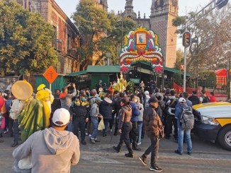 ¡Va de nuevo! Cierran iglesia de San Hipólito por exceso de visitantes