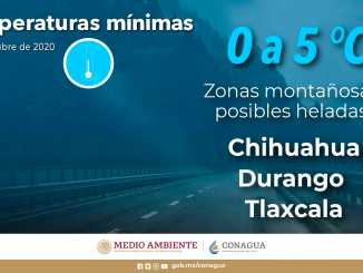 Se prevén fuertes lluvias para Chiapas, Colima, Jalisco, Michoacán, Puebla y Veracruz