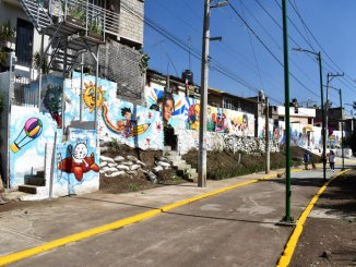 En Magdalena Contreras convierten un sendero seguro la zona de Las Huertas y San Nicolás