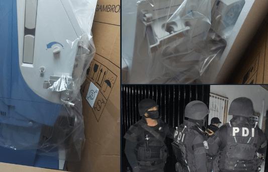 En operativo conjunto, autoridades capitalinas recuperan los equipos de diálisis robadas el martes 13