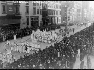 Hace 105 años, 25 mil mujeres marcharon en NY por el derecho al voto