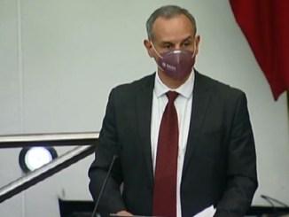 Comparece López Gatell ante Senado, se quita cubrebocas #VIDEO