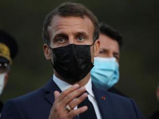 Anuncia Macron toque de queda de cuatro semanas en París y ocho ciudades