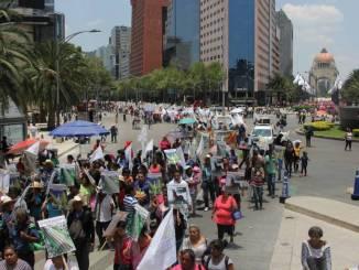 Prevén 9 manifestaciones hoy en la CDMX