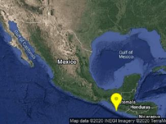 Se registra sismo de magnitud 5.0 en Chiapas
