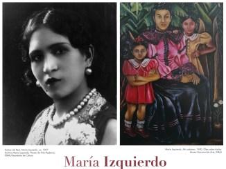 María Izquierdo y su archivo expuesto