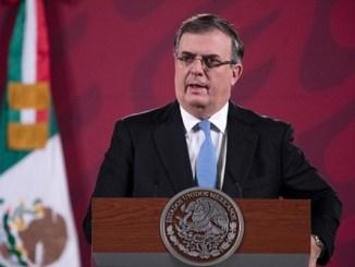 Fiscal general de EU ya habló con Ebrard sobre detención de Cienfuegos