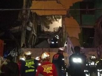 Dos muertos tras explosión en colonia Morelos #VIDEOS