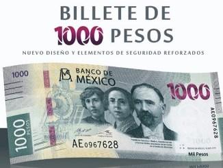 Este es el nuevo billete de mil pesos #VIDEO