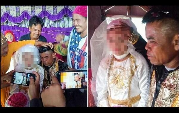 Menor de 13 años es obligada a casarse con hombre de 48 en Filipinas