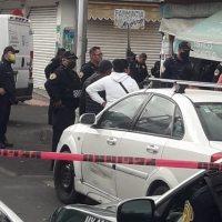 Ejecutado con su propia arma, muere extorsionador en Iztacalco