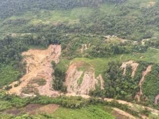 Deslave de cerro en Chiapas provoca evacuación de toda una comunidad