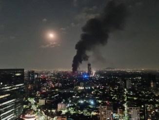 Se restablece luz tras incendio en la subestación de CFE en Coyoacán