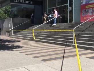Registran balacera en Plaza Patriotismo, en CDMX #VIDEO
