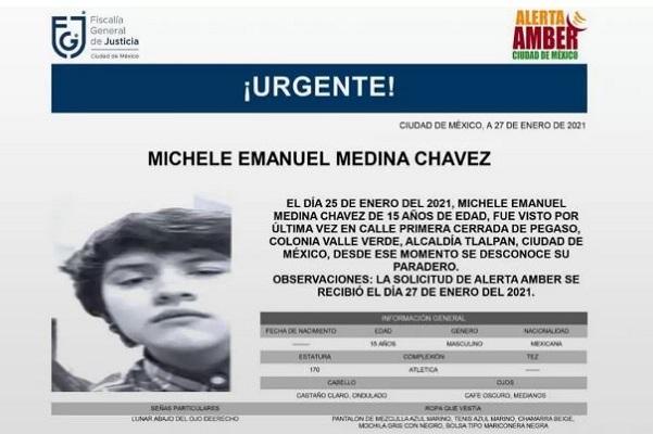 Desaparece alumno de CCH Sur. Lo habrían amenazado