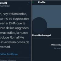 Suspenden cuenta de Twitter de León Larregui tras emitir su opinión sobre la vacuna anticovid