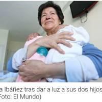 """Mujer de 64 años tiene gemelos, se los quitan por considerarla """"inhabilitada"""""""