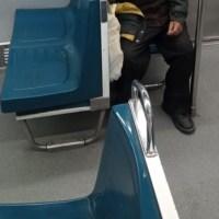 Adulto mayor muere en vagón de la Línea 5 del Metro CDMX