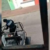 Exhiben brutalidad policiaca contra mujer detenida, en Tabasco #VIDEO