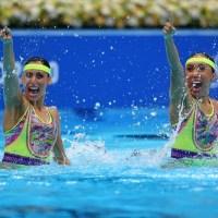 Nuria Diosdado y Joana Jiménez avanzan a la Final de nado sincronizado