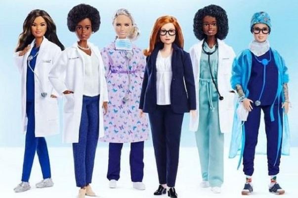 Barbie lanza una colección de doctoras y científicas que luchan contra el Covid-19