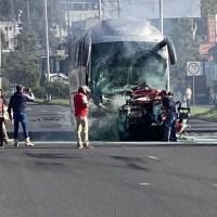 Dos muertos y 14 heridos tras choque múltiple en carretera de Veracruz