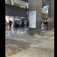 Aeropuerto de la CDMX se inunda tras fuertes lluvias #VIDEOS