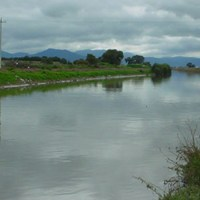 Río Lerma a punto de desbordarse por lluvias