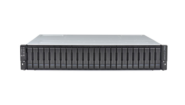 PAC Storage All Flash 2000 24-Bay 2.5 inch SSD Drives