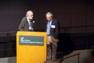 Terrible photo of Drs. Janzen and Hager
