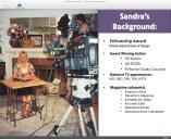 Sandra's qualifications