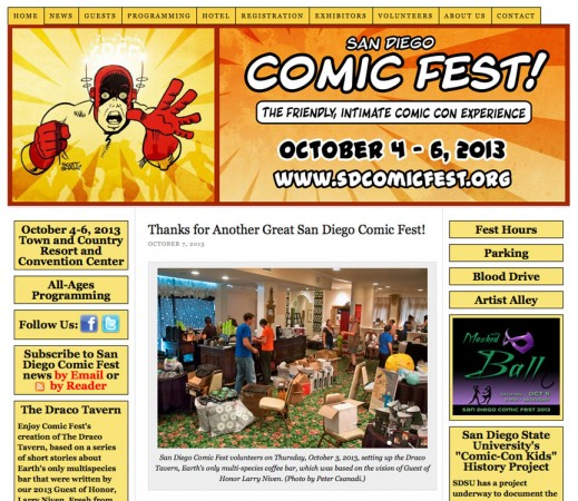 Comic Fest Photo of Mine on Website 10-07-13
