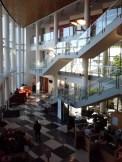 Moores' impressive lobby