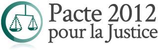 Pacte 2012 pour la justice