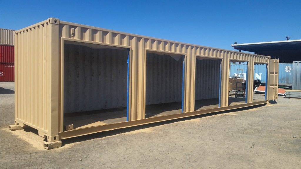 Best Kitchen Gallery: Custom Storage Containers Modified Shipping Containers of Shipping Container Garage Kits on rachelxblog.com
