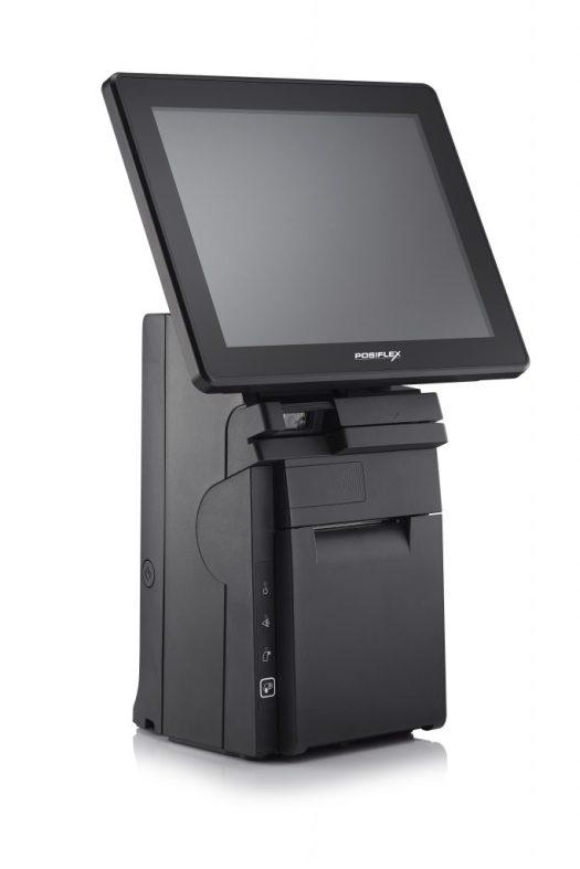 Kassensystem mit integriertem Drucker