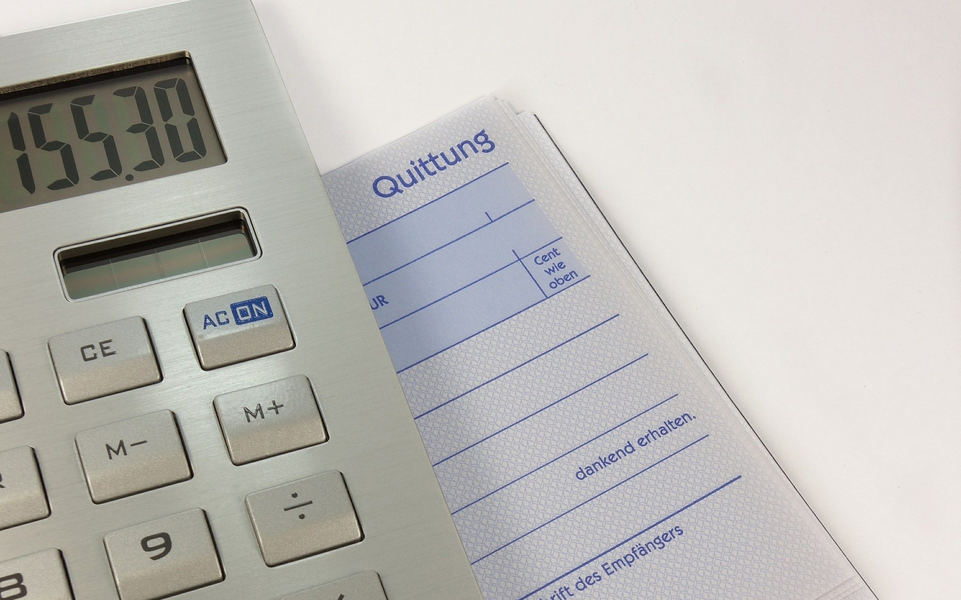 Kassensystem mit offener Posten Verwaltung