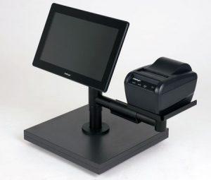 Haltesystem für Touchkassen