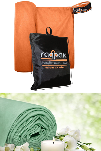 Raqpak Microfiber Travel Towel