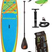 SPORTSSTUFF 1030 Adventure Stand Up Paddleboard With Accessories
