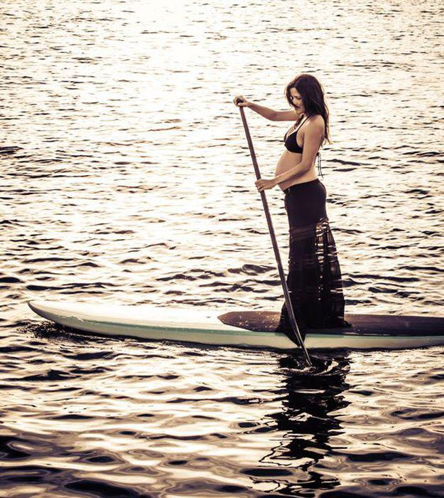 paddle gonflable pour femme