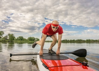 How to Get on a Paddleboard