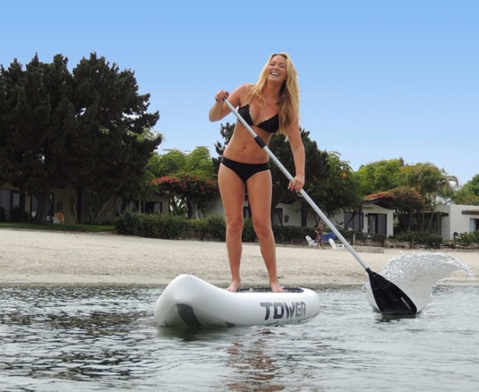 Tower Xplorer SUP Inflatable Stand Up Paddleboard - great paddling