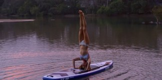 SUP Yoga standup paddleboard