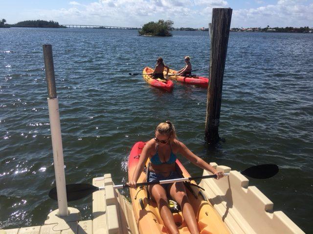 Kayak In The Indian River Lagoon