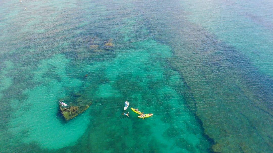 Kayak to the Boiler Wreck