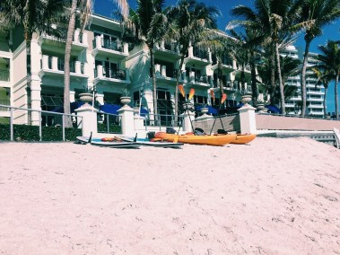 Paddle Boards and Kayaks at Kimpton Vero Beach Hotel & Spa