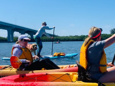 Guided Kayak and Paddle Board Tour on the Indian River Lagoon in Vero Beach